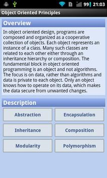 Object Oriented Principles poster