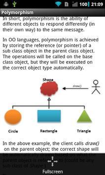 Object Oriented Principles apk screenshot