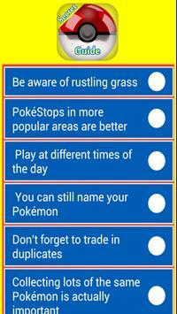 Secret Guide For Pokmon apk screenshot