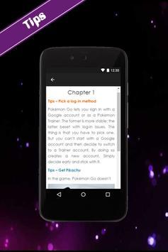 Tips For Poke Mon Go apk screenshot