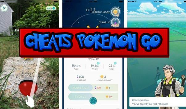 Cheats Pokemon go apk screenshot