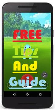 Free Pokemon Go Tips and Guide poster