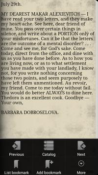 Poor Folk - Fyodor Dostoyevsky apk screenshot