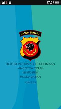 SISFORIM POLDA JABAR poster