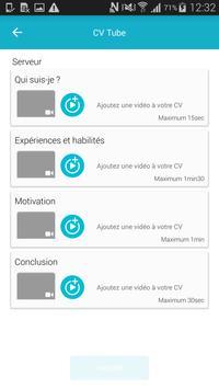 CV Tube - Pôle emploi apk screenshot