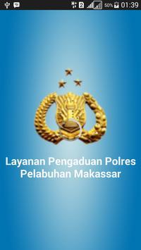 Res Pelabuhan Makassar PEDULI poster