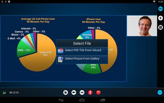 RealPresence Mobile - Tablet apk screenshot