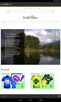 Pondok Salam Wisata Nusantara apk screenshot