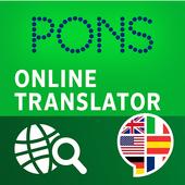 PONS Online Translator icon