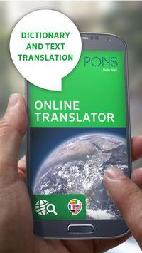 PONS Online Translator poster