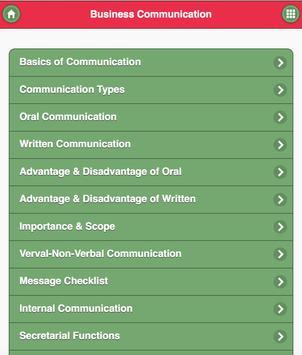 Business Communication apk screenshot