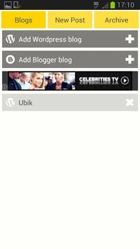 Easy WordPress & Blogger apk screenshot