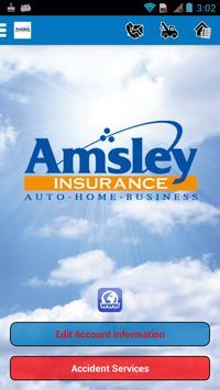 Amsley Insurance Services poster