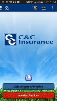 C & C Insurance poster