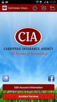 Carriveau Insurance Agency poster