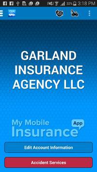 Garland Insurance Agency poster