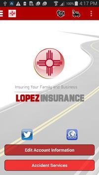 Lopez Insurance Agency poster