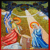 The Feast of the Annunciation icon