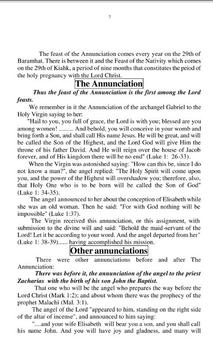 The Feast of the Annunciation apk screenshot