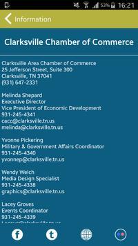 Clarksville Area Chamber apk screenshot