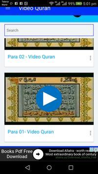 Video Quran - Urdu Translation apk screenshot