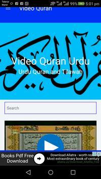Video Quran - Urdu Translation poster