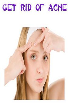 Get Rid of Acne poster