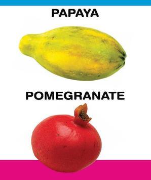 PreSchool Book - Fruits apk screenshot