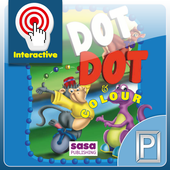 Dot to Dot Coloring Book Kids icon