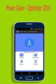 Power Clean - Optimizer 2016 poster
