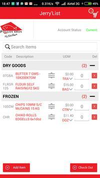 Poulos Bros Foodservice apk screenshot