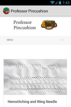 Professor Pincushion apk screenshot