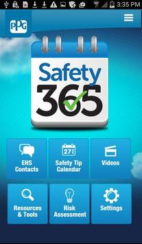 Safety 365 poster