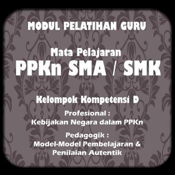 Modul GP PPKn SMA/SMK KK-D poster
