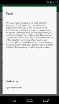 The Opportunity Journal apk screenshot