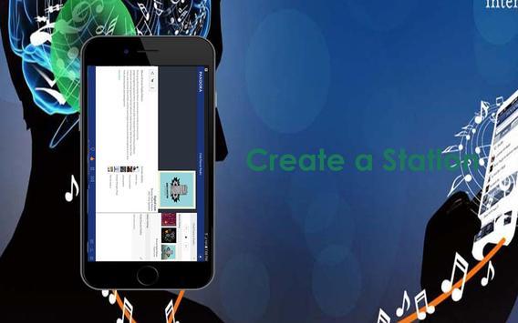 Guide of Pandora Music Radio apk screenshot