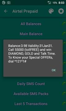 Mobile Balance Checker PrePaid apk screenshot
