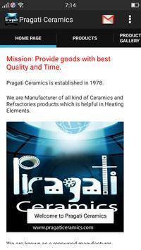 Pragati Ceramics poster