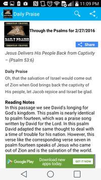 Daily Praise Meditations apk screenshot