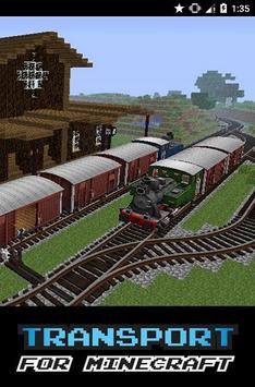 Transport Mod For MCPE apk screenshot