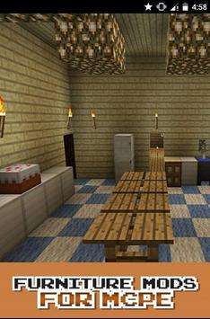 Furniture MOD For MCPE poster