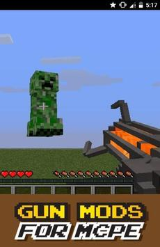 Gun MOD For MCPE poster