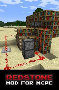 Redstone MOD For MCPE poster