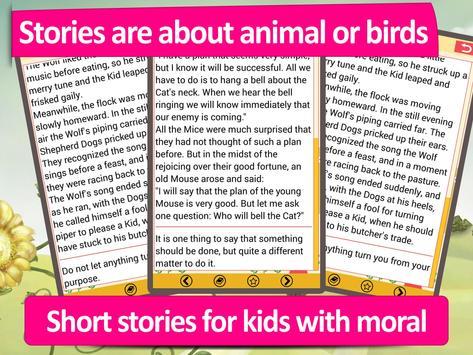 Aesops Fables stories for kids apk screenshot