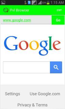 Pvl Browser apk screenshot