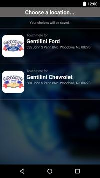 Gentilini Motors DealerApp apk screenshot