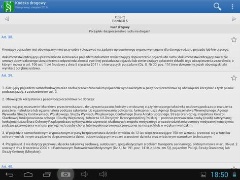 Kodeks drogowy i Prawo drogowe apk screenshot