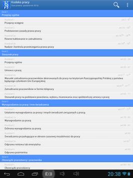 Kodeks pracy apk screenshot