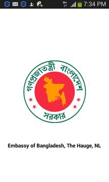 Bangladesh Embassy, Hague, NL apk screenshot