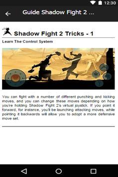 Guide Play Shadowfight 2 apk screenshot